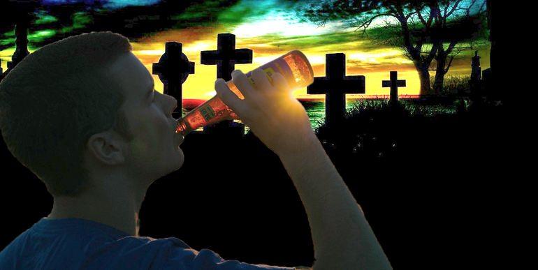 Пить пиво каждый день