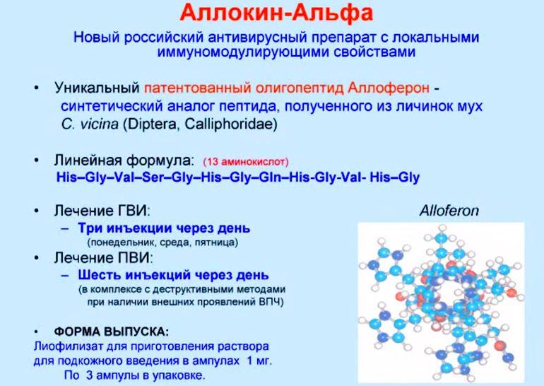 Описание иммуномодулирующего